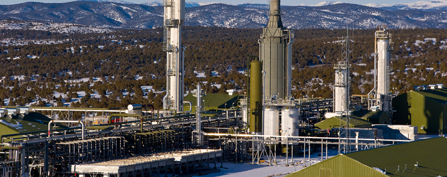 Natural Gas Processing Plants Map